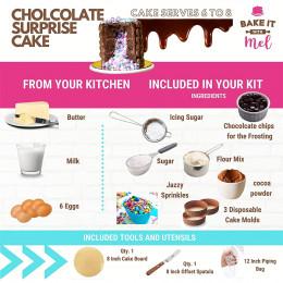 Chocolate Surprise Cake Kit