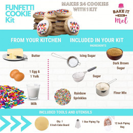 Funfetti Cookie Kit