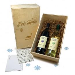 Cakebread Cellars Blanc and Cabernet Sauvignon 750ml Custom Gift Set