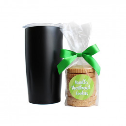 Custom Tumbler and Cookie Set