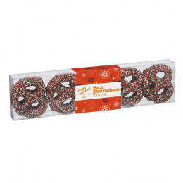 Covered Pretzels 10 Pack with Sprinkles Gift Box