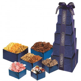 Crowd Pleaser Contemporary Snack Assortment Tower