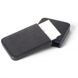 Custom Leather Slide Business Card Holder