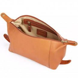 Custom Collapsible Leather Cosmetic Case