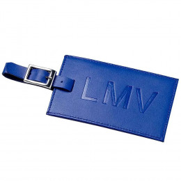 Custom Oversized Rectangular Leather Luggage Tag