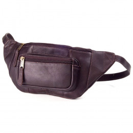 Kangaroo Pocket Leather Pouch (Optional Engraving)