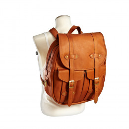 Custom Vintage Style Leather Rucksack