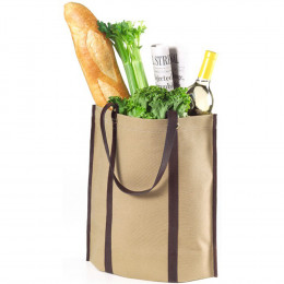 Custom Eco Chic Canvas and Leather Tote Bag