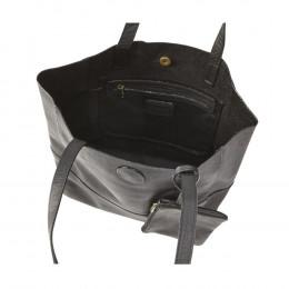 Custom Leather Vertical Kate Tote Bag