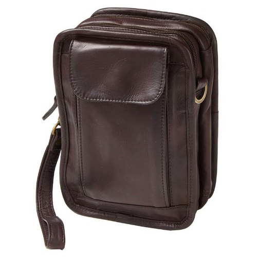 Leather Organizer Travel Pouch (Optional Engraving)