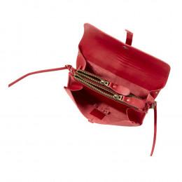 Custom Leather Sonoma Accordion Crossbody Clutch Bag
