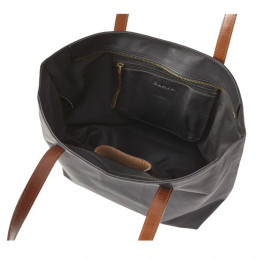 Custom Sonoma Leather Zip-Top Tote Bag