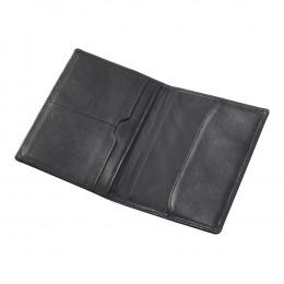 RFID Blocking Leather Passport Organizer (Optional Engraving)