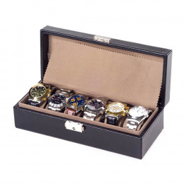 Leather Watch Box (Optional Engraving)