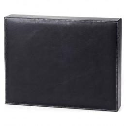 Custom Leather Document Box