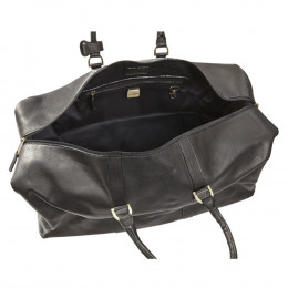Custom Leather Cabin Duffel Bag