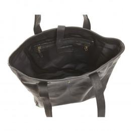 Custom Leather Square Tote Bag