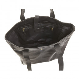 Custom Oversized Leather Tote Bag