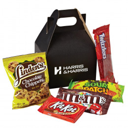 On the Trail Healthy Snacks Gable-Style Gift Box