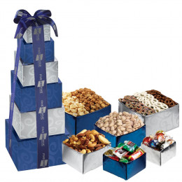 Sweet and Savory 6-Tier Tower of Treats