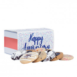 Custom Greeting Sampler Classic Cookie Gift Box with Sleeve