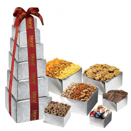 Corporate Crowd Pleaser Gourmet Food Gift Tower