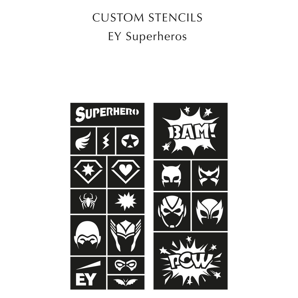 Custom Amkiri Scented Temporary Tattoo Mini Bundle - Charcoal