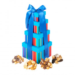 Dylan's Candy Bar Gourmet Popcorn Tower