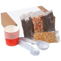 Custom Do-It-Yourself Ice Cream Kit Box