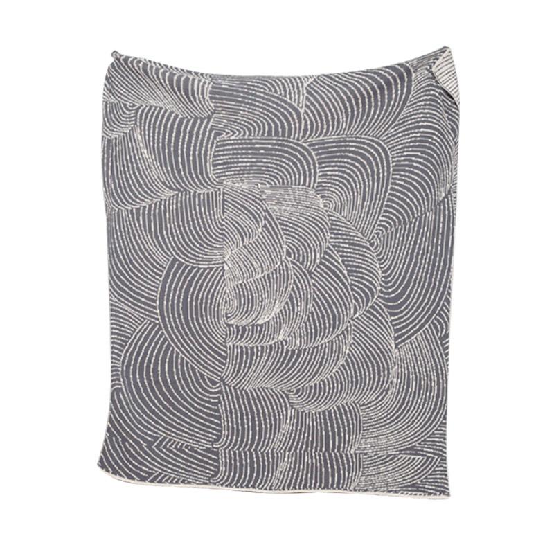 Eco Cocoon Reversible Throw Blanket