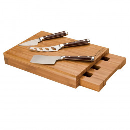 Custom Bambu Bamboo Cheese Set