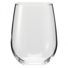 Custom Vina Stemless 17oz White Wine Glass