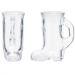 Custom Boot Shaped Glass Shooter