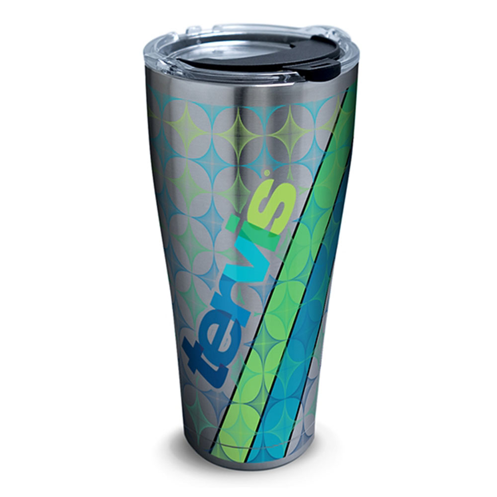 Custom 30oz Stainless Tervis Tumbler with Lid