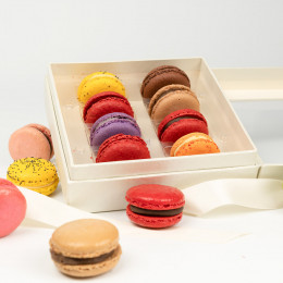 Ghyslain's French Macaron Collection Gift Box 8pc