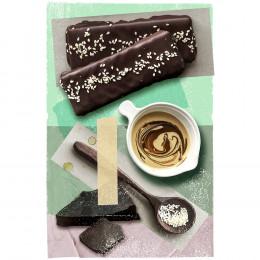 Premium Dark Chocolate Gift Box by Blue Stripes Urban Cacao