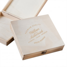 Personalized Groomsmen Wood Keepsake Box