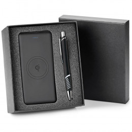 Custom Super Titan & Naomie Power Bank and Pen Gift Set