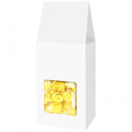 Custom Popcorn Gable Box with Brand Color Fill