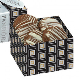 Chocolate Covered Oreos® with Chocolate Drizzle Gift Box - 5 pc