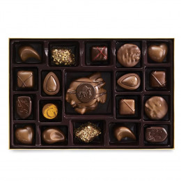 Godiva 19 pc Nut and Caramel Gift Box
