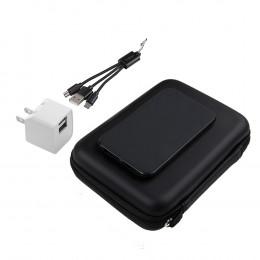 Custom 5,000 mAh Dual USB Power Bank Gift Set