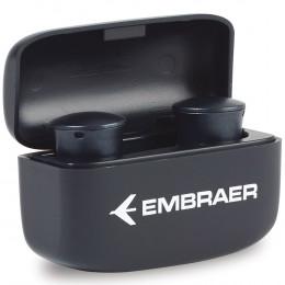 Custom Orbit TWS Earbud w/ Wireless Charging Case