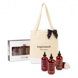 Custom Bushwick Kitchen Bees Knees Honey Trio Gift Set