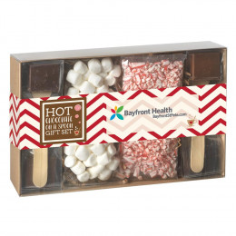 Hot Chocolate on a Spoon 4 Pack Gift Box