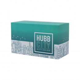 Custom HubbCity™ USB Hub Charging Station with 5 Ports