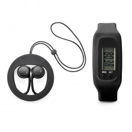 Custom DASH & STEP Fitness Tracker and Earbuds
