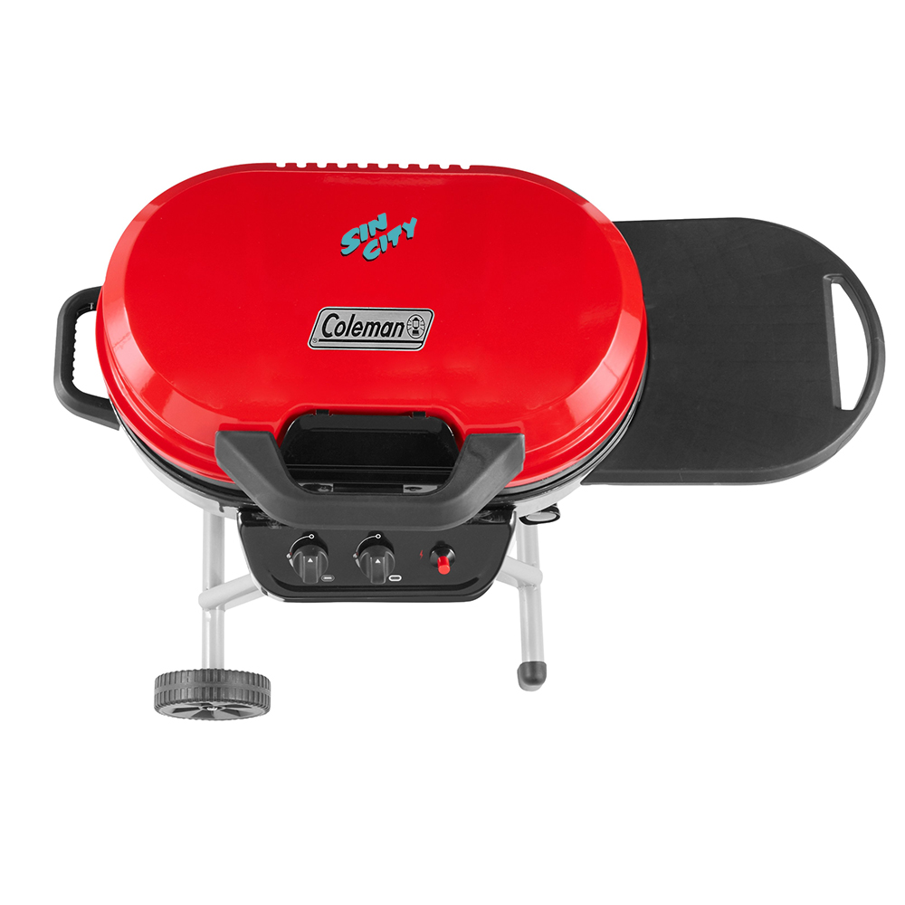 Custom Coleman RoadTrip 225 Portable Stand-Up Propane Grill