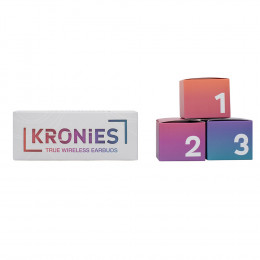 Custom Kronies™ Wireless Earbuds with Built-In Microphone