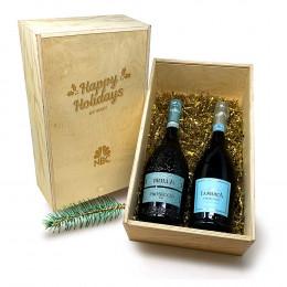 La Marca and Brillo Prosecco 750ml Gift Set
